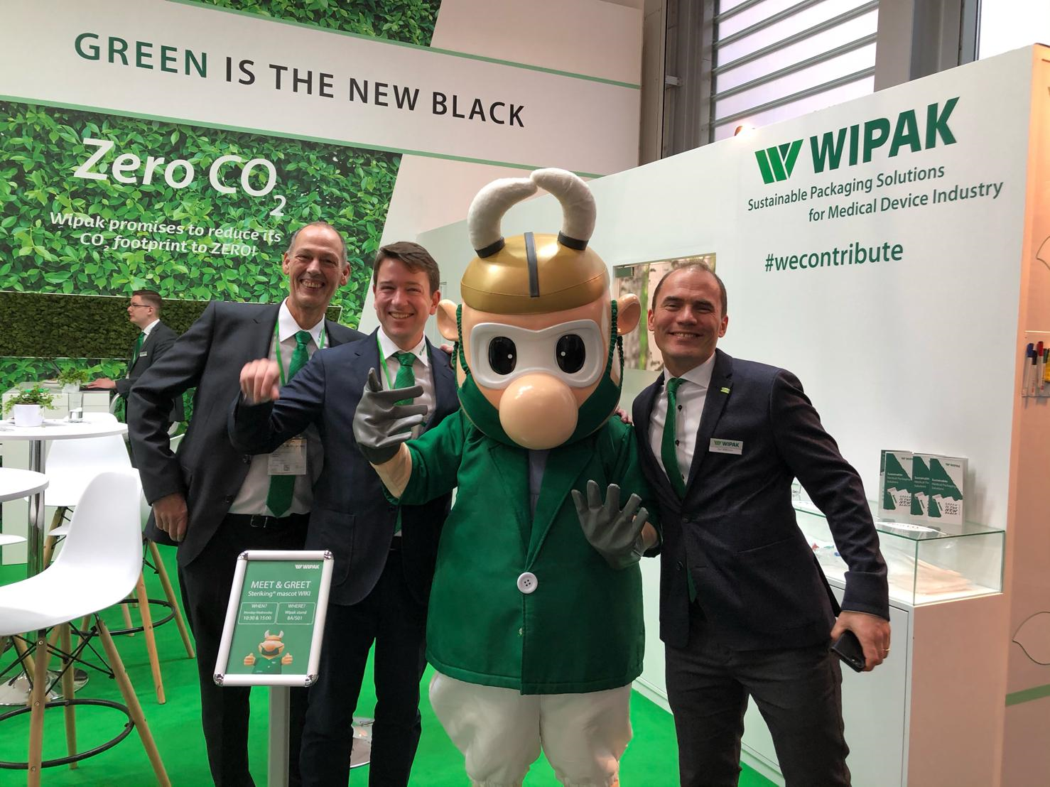 Wipak stuff in Compamed 2019 in Germany